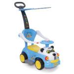 Кола за бутане с дръжка Panda  JY Z02A Moni