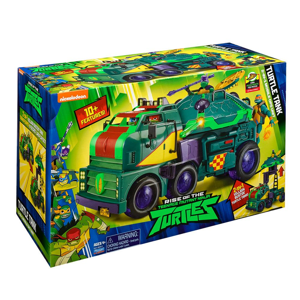 TMNT Трансформиращ се камион за костенурки нинджа 2в1 ROTMNT 82511