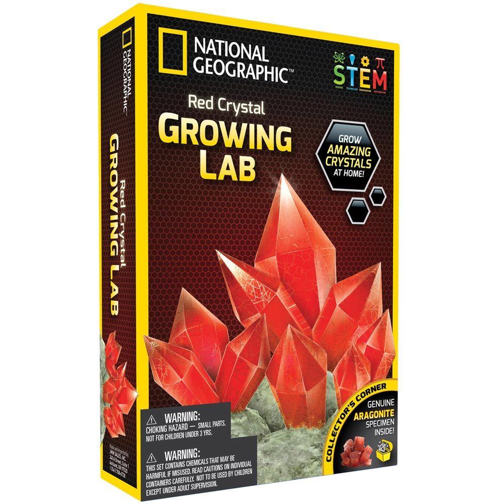 NATIONAL GEORGAPHIC Лаборатория за кристали Арагонит Червен NG09/NGRCRYSTAL