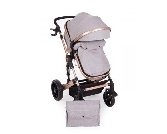 Kikka Boo Комбинирана количка 2 в 1 Darling Light Grey 31001010056