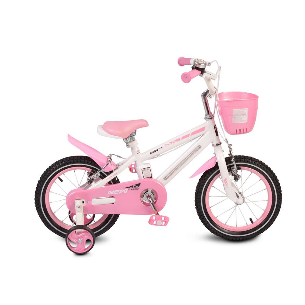 Детски велосипед 14 със светеща рамка 1290 Moni