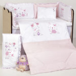 Спален комплект 8 части Зайчета DIZAIN BABY