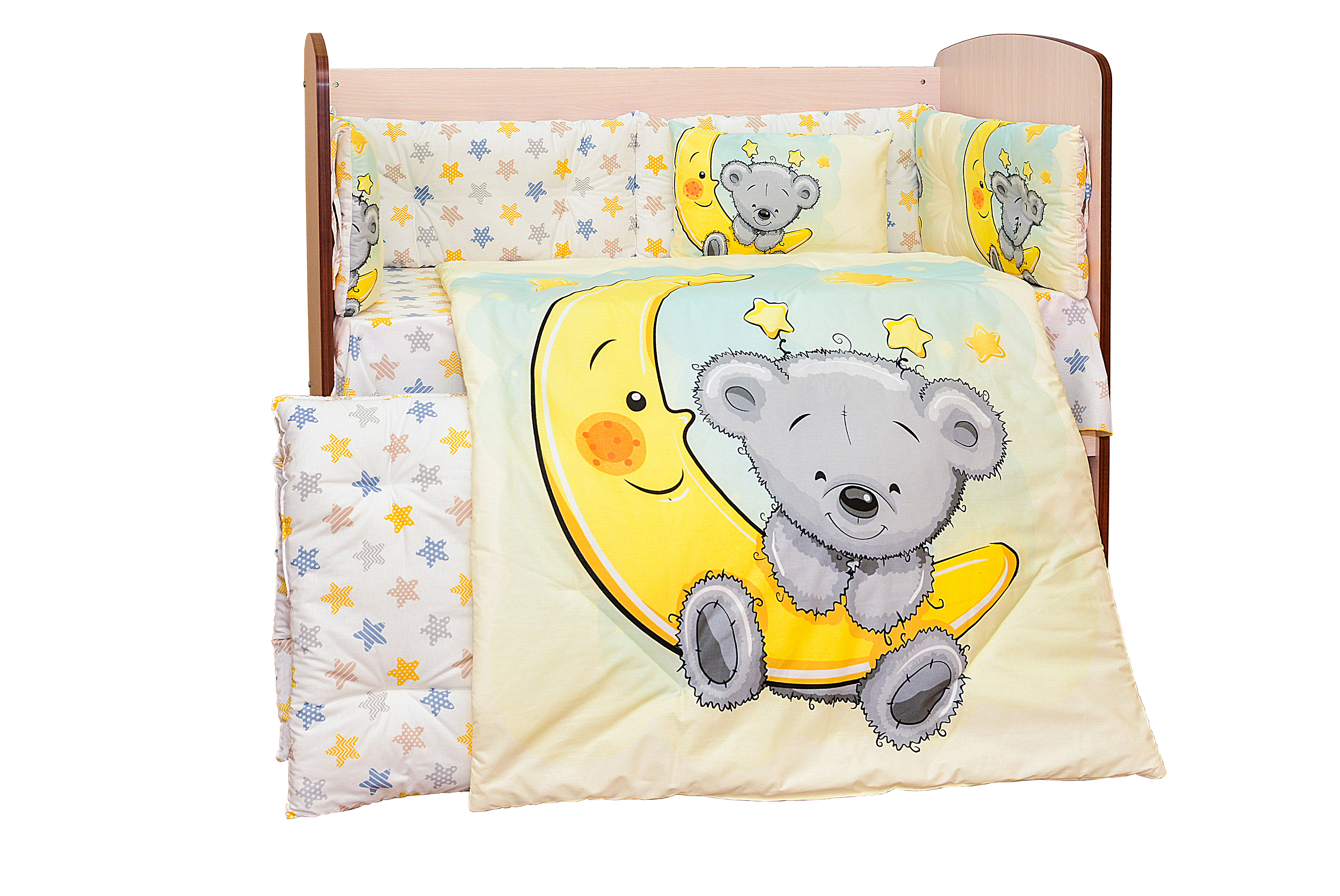 Спален комплект 8 части Лунен сън DIZAIN BABY