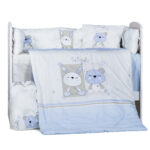 Спален комплект 8 части 60/120 Сънливко DIZAIN BABY