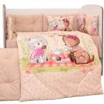 Спален комплект 8 части Пикник DIZAIN BABY