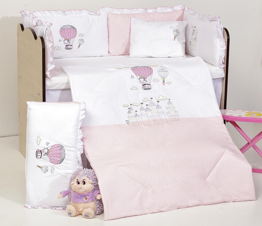 Спален комплект 8 части Замък DIZAIN BABY