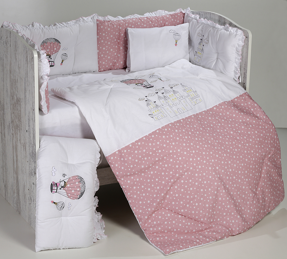 Спален комплект 8 части Замък звезди DIZAIN BABY