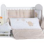Спален комплект 8 части Слонче балон 60/120 DIZAIN BABY