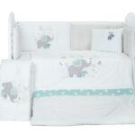 Спален комплект 8 части сиво слонче DIZAIN BABY