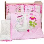 Спален комплект 8 части Вълшебен свят DIZAIN BABY